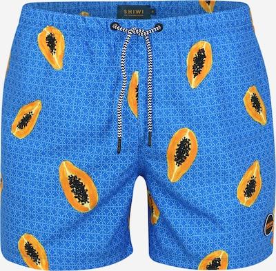 Shiwi Badehose 'Papaya' in blau, Produktansicht