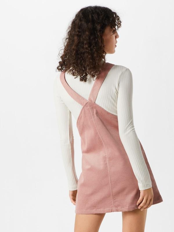 Pinafore salopette Missguided 'cord En Rose Jupe Dress' wiOPTlXZuk