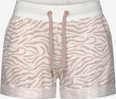 Pantaloncini da pigiama LASCANA di colore rosa / bianco, Visualizzazione prodotti