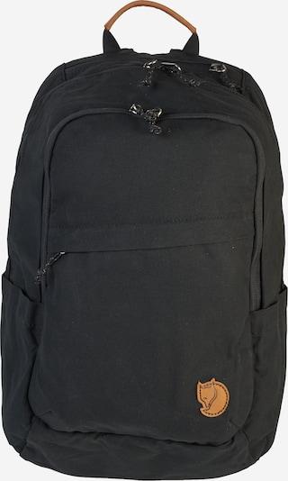 Fjällräven Rucksack 'Räven' in braun / schwarz, Produktansicht