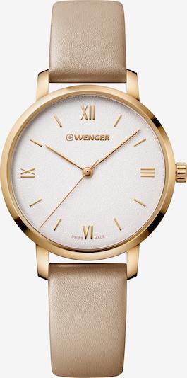 WENGER Uhr 'Metropolitan Donnissima' in hellbeige / gold, Produktansicht