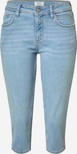 Q/S designed by Pantalon en bleu clair: Vue de face