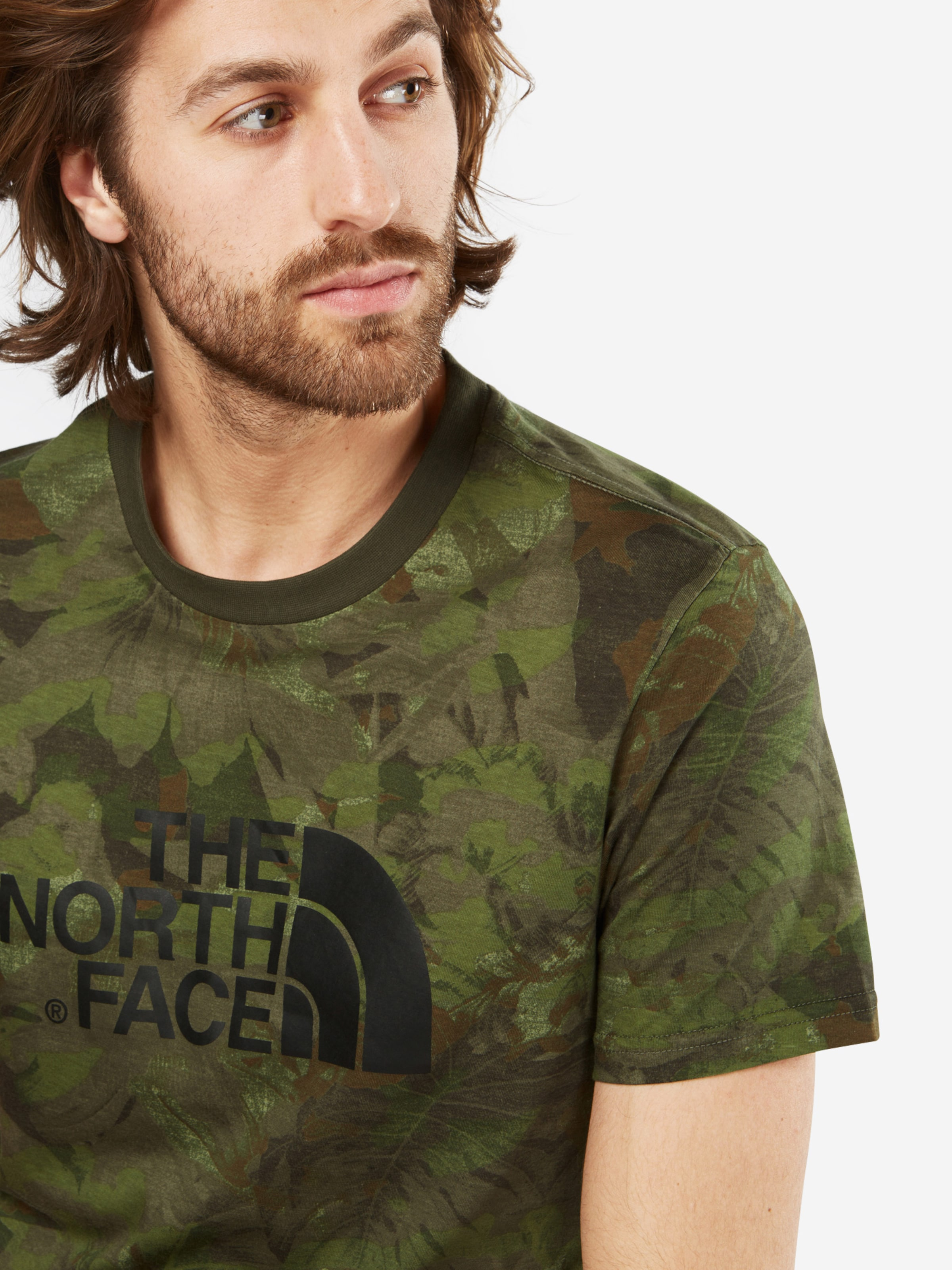 Logo T FACE mit NORTH THE NORTH THE Shirt nOxnS0c