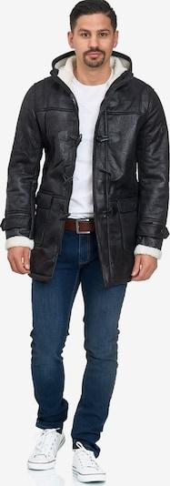 INDICODE JEANS Winterjas 'Calshot' in de kleur Zwart, Productweergave
