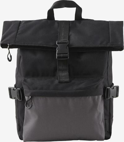 TOM TAILOR DENIM Bags Rucksack Leon in schwarz, Produktansicht