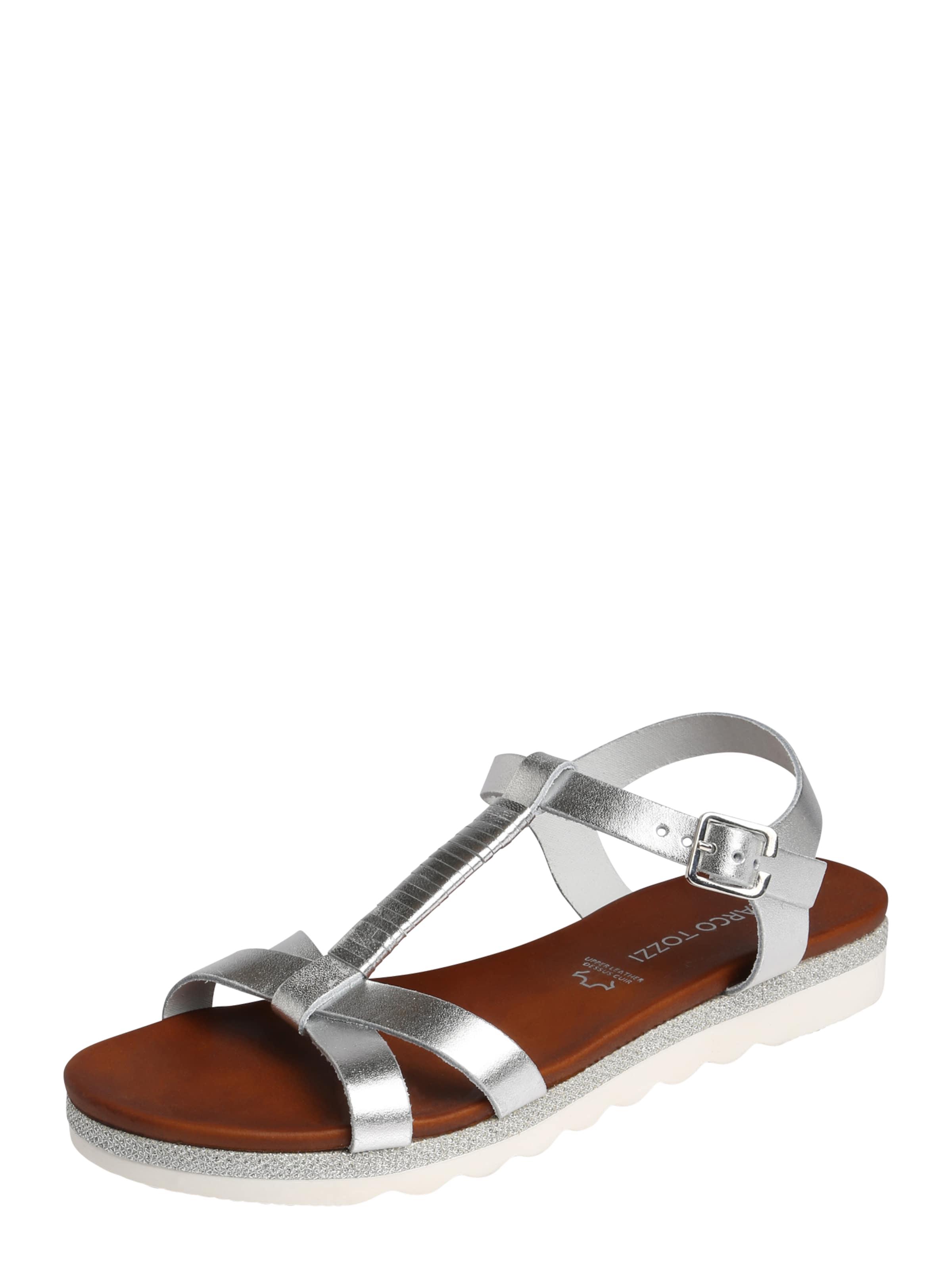 MARCO TOZZI Riemchensandale Verschleißfeste billige Schuhe