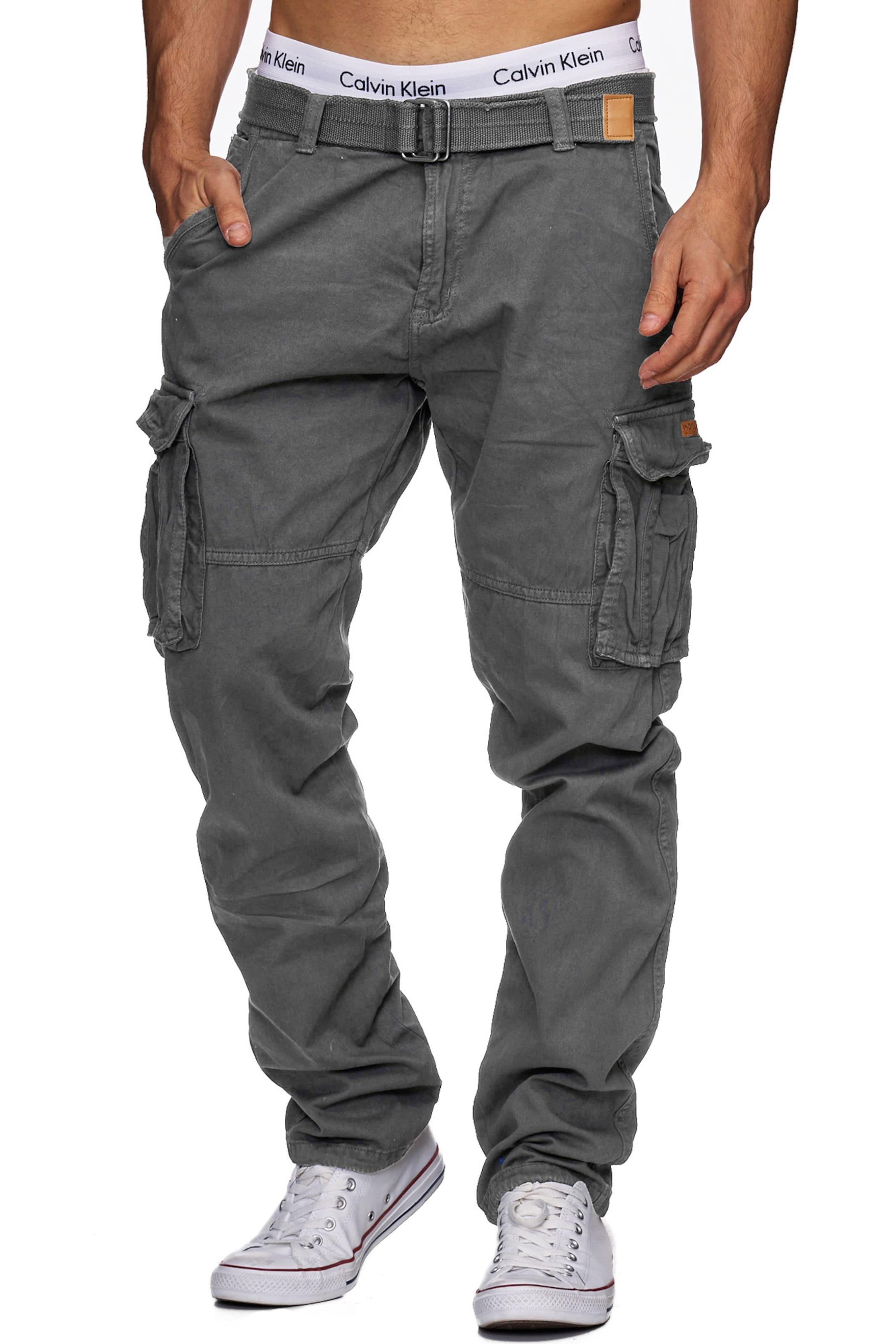Cargo Indicode En Pantalon ' Gris William Foncé Jeans cTJ3FKl1