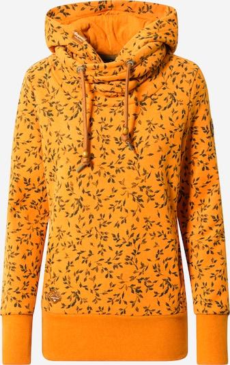 Ragwear Sweatshirt in orange / schwarz, Produktansicht