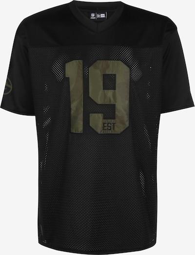 NEW ERA T-Shirt ' NFL Green Bay Packers ' in oliv / schwarz, Produktansicht