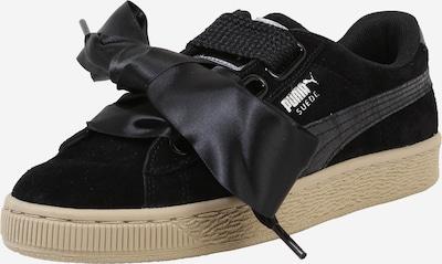 PUMA Sneaker 'Suede Heart Safari' in schwarz, Produktansicht