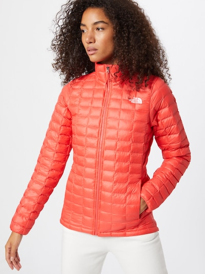 THE NORTH FACE Outdoorová bunda - oranžově červená: Pohled zepředu