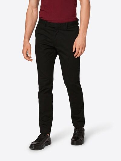 POLO RALPH LAUREN Hose 'SLFHDNP-FLAT-PANT' in schwarz, Modelansicht