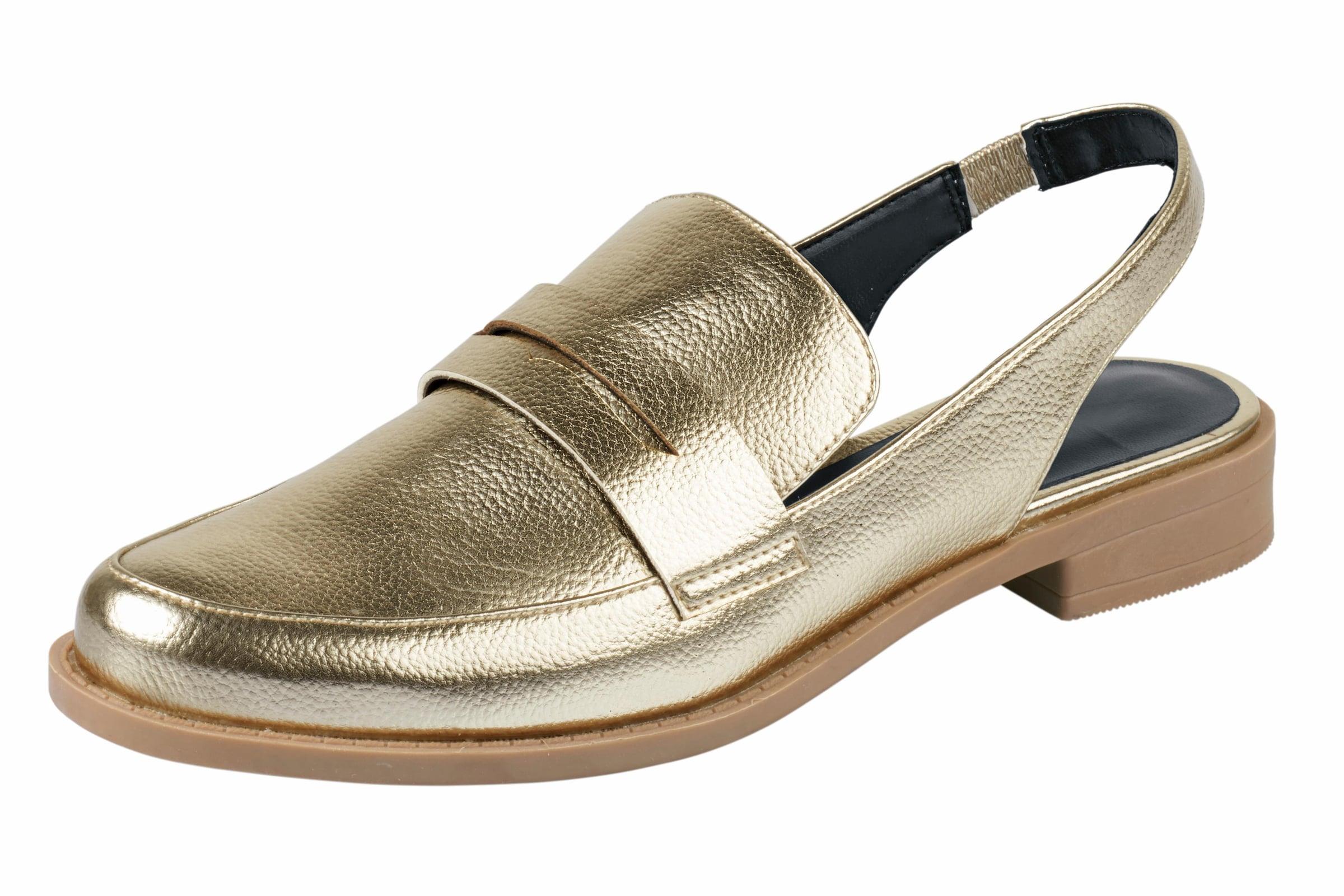 heine Slipper in Slingform Verschleißfeste billige Schuhe