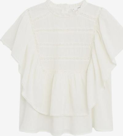 MANGO Blouse in de kleur Wit gemêleerd, Productweergave
