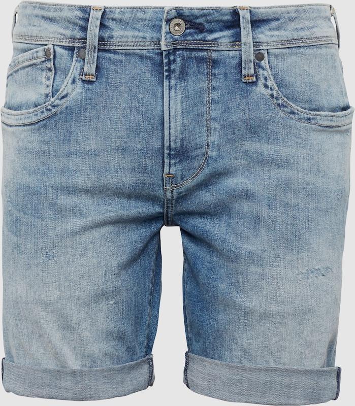 Pepe Jeans Jeans 'HATCH SHORT' in Blau denim  Bequem und günstig