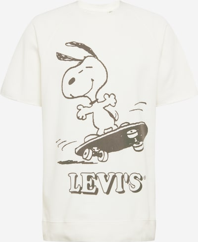 LEVI'S Majica 'CUTOFF' | črna / bela barva, Prikaz izdelka