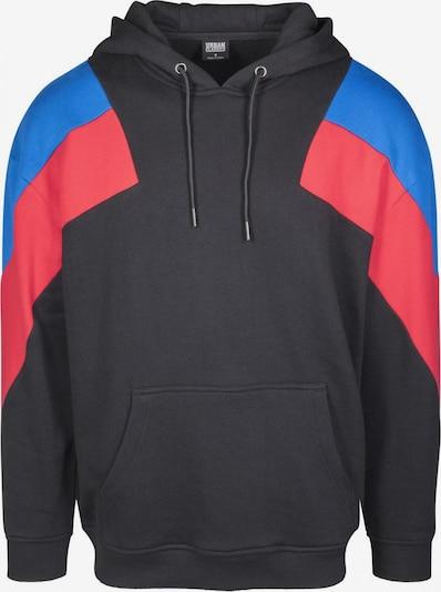 Urban Classics Sweatshirt in de kleur Blauw / Rood / Zwart, Productweergave
