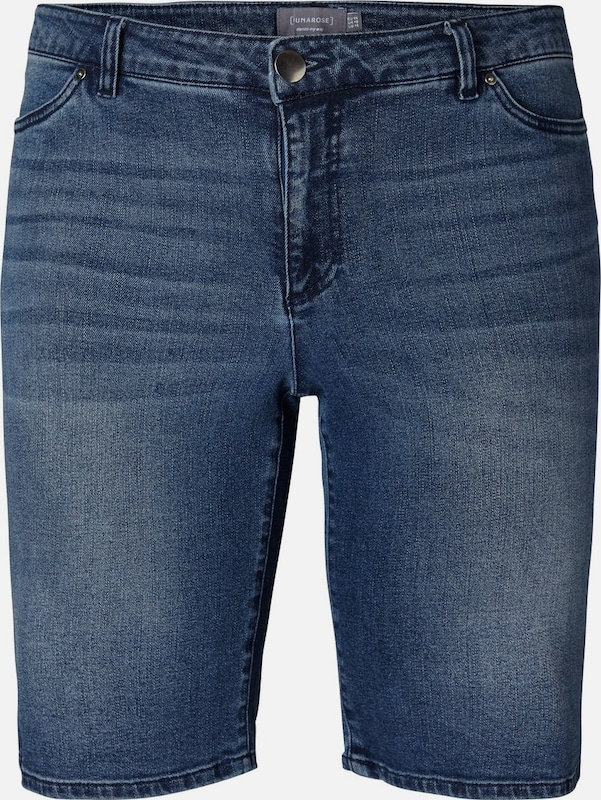 JunaRosa Shorts in Blau denim  Großer Rabatt