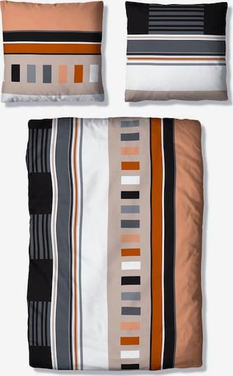 MY HOME Bettwäsche in orange, Produktansicht