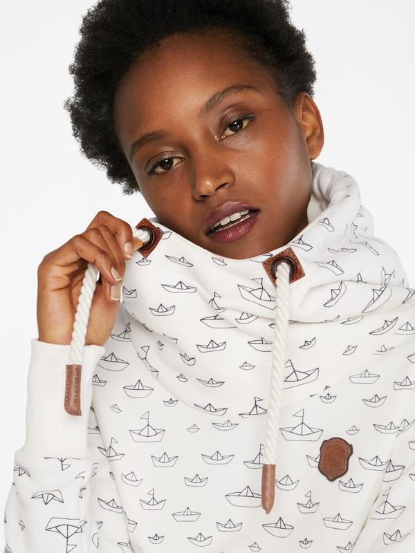 naketano Sweatshirt 'Ich Denke Also Spinn Ich'