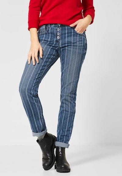 CECIL Jeans in blau / weiß, Modelansicht