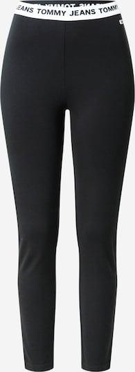 Tommy Jeans Leggings en noir / blanc, Vue avec produit