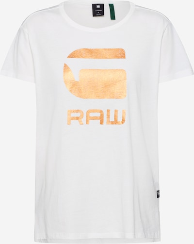 G-Star RAW T-shirt 'Graphic 21 r t wmn s\s' en crème, Vue avec produit