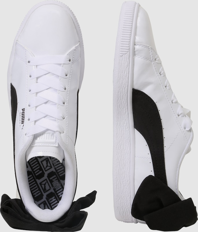8a59195424a PUMA Sneakers laag 'Basket Bow SB' in Zwart / Wit | ABOUT YOU