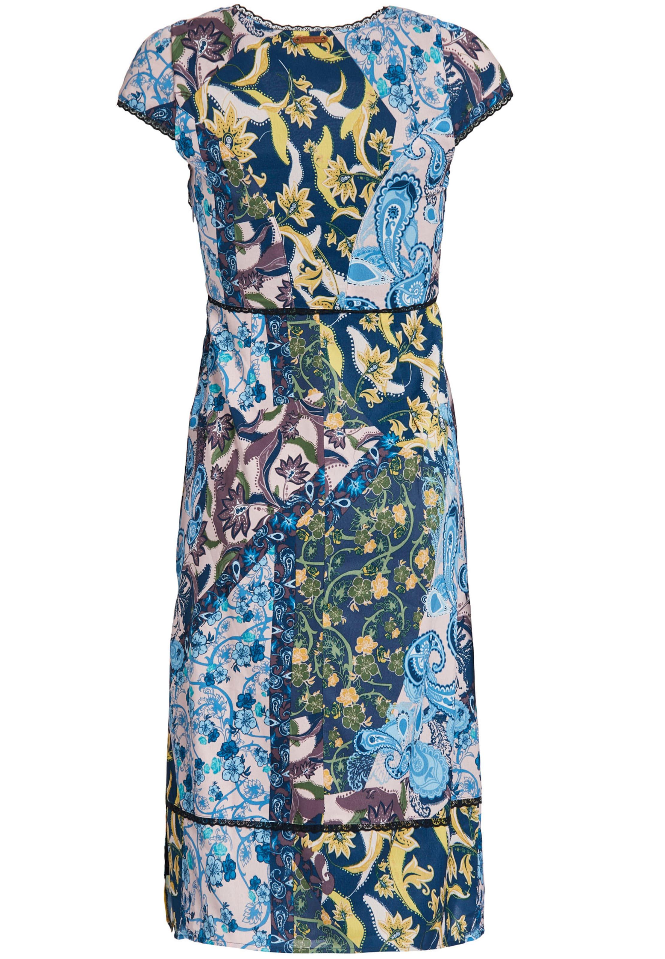 BlauGelb Khujo In 'castiana' Weiß Kleid 0PknwO