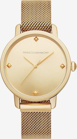 Rebecca Minkoff Damenuhr in gold, Produktansicht