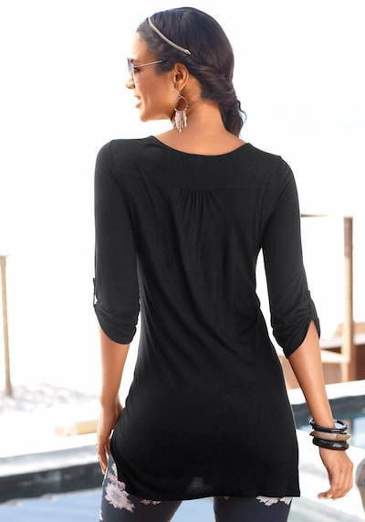 LASCANA Blouse in black, Item view