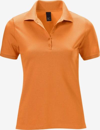 heine Pikee-Poloshirt, halbarm in orange, Produktansicht