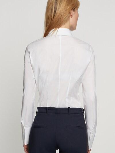 Bluză SEIDENSTICKER pe alb: Privire spate