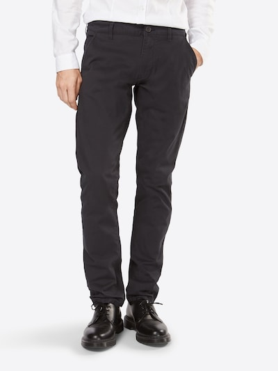 SELECTED HOMME Chino 'SHHTHREEPARIS' in dunkelgrau, Modelansicht