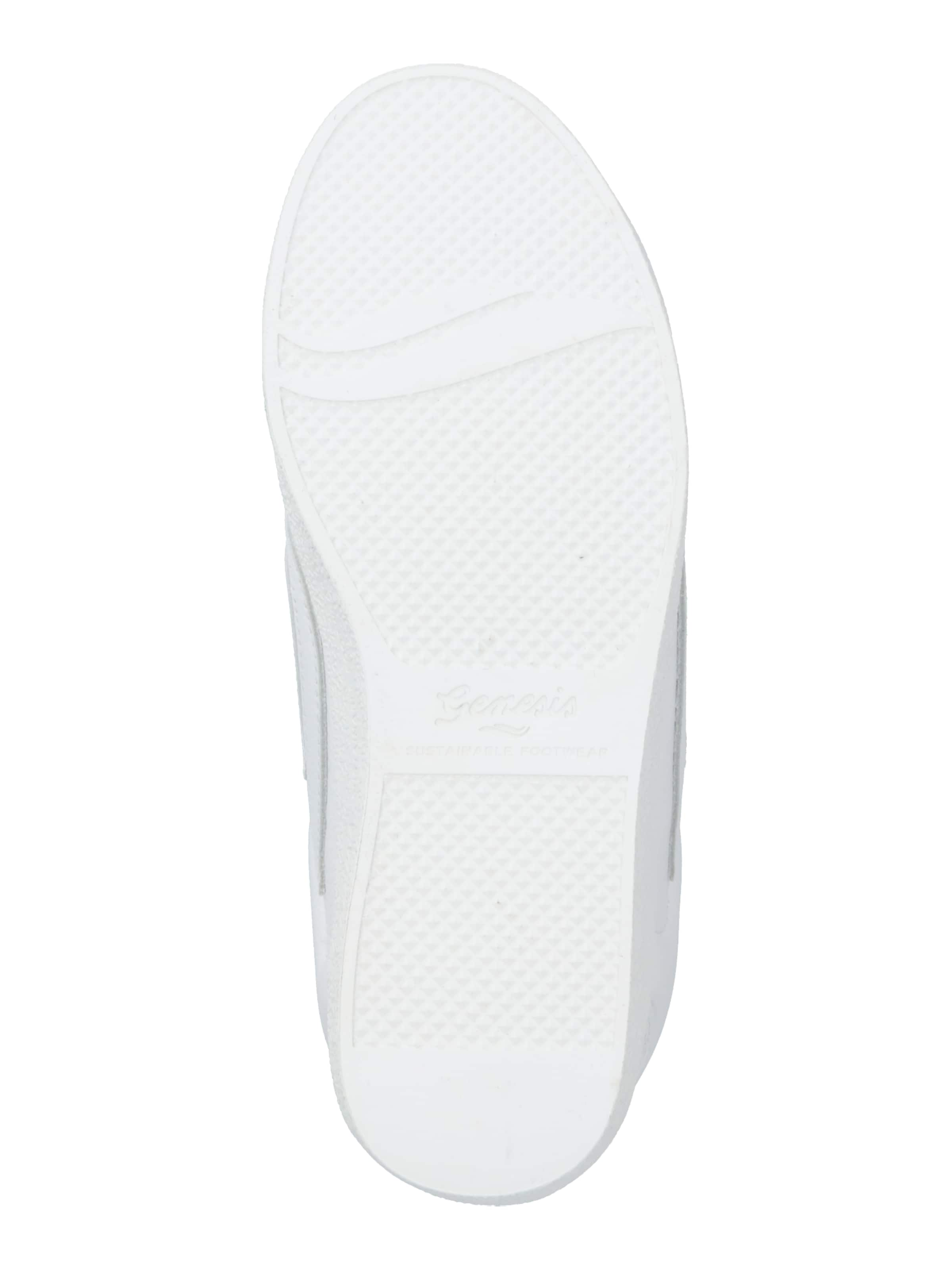 GENESIS Rövid szárú edzőcipők 'G-Helà Tumbled' fehér színben