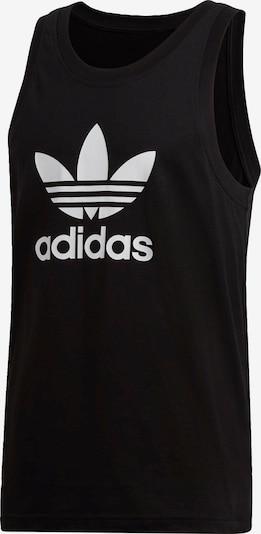 ADIDAS ORIGINALS Shirt 'Trefoil' in schwarz / weiß, Produktansicht