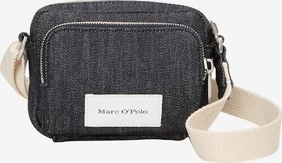 Marc O'Polo Tasche in beige / blue denim / schwarz / weiß, Produktansicht