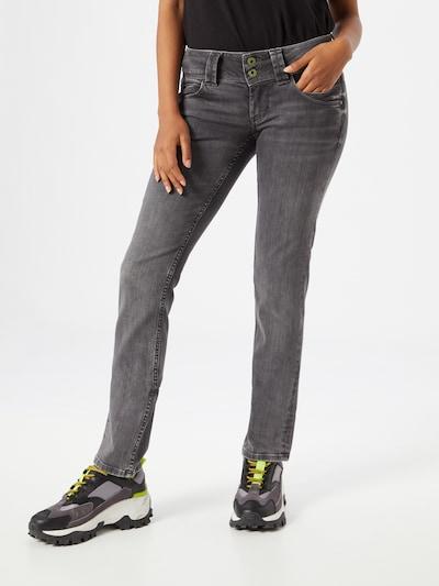 Pepe Jeans Traperice 'Venus' u sivi traper, Prikaz modela