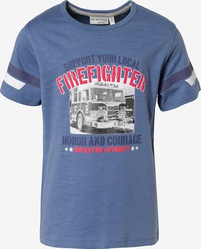 SALT AND PEPPER Shirt in taubenblau, Produktansicht
