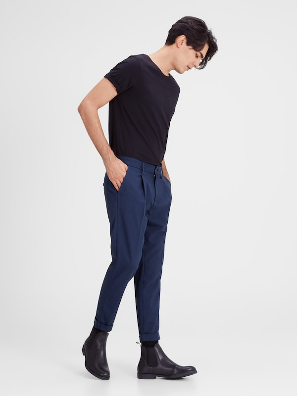 JACK & JONES Chino 'ACE JJMILTON PANT AKM 324 MOOD INDIG'