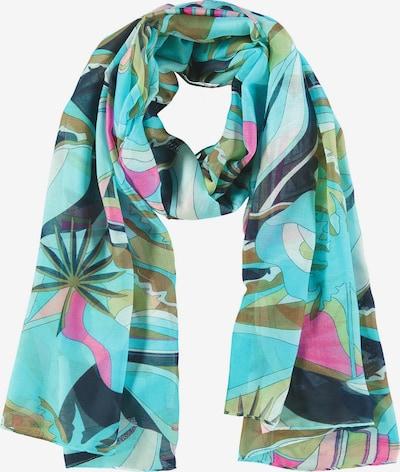 GERRY WEBER Schal Schal mit farbenfrohem Muster in mischfarben, Produktansicht