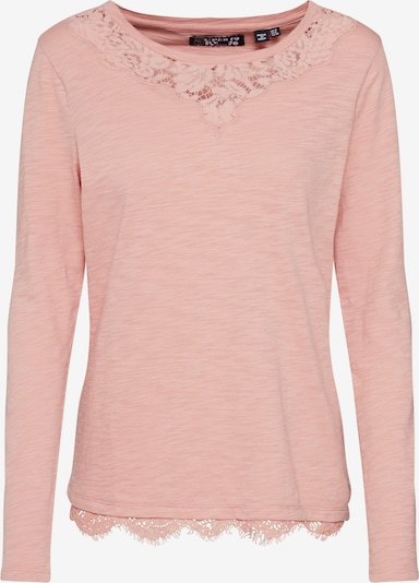 Superdry Shirt 'ELLIS LACE TOP' in rosa, Produktansicht
