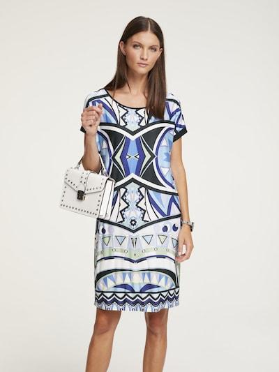 heine Jerseykleid in blau, Modelansicht