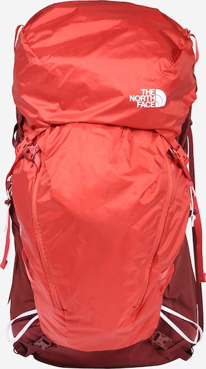 THE NORTH FACE Sport-Tasche 'Banchee' in blutrot / melone / weiß, Produktansicht