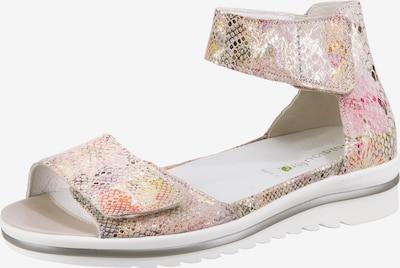 WALDLÄUFER Komfort-Sandale 'Hakura' in gold / rosé, Produktansicht