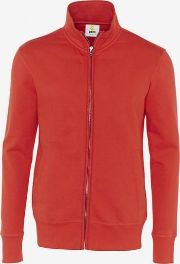 BRDS Sweatjacke 'LINUS' in rot, Produktansicht