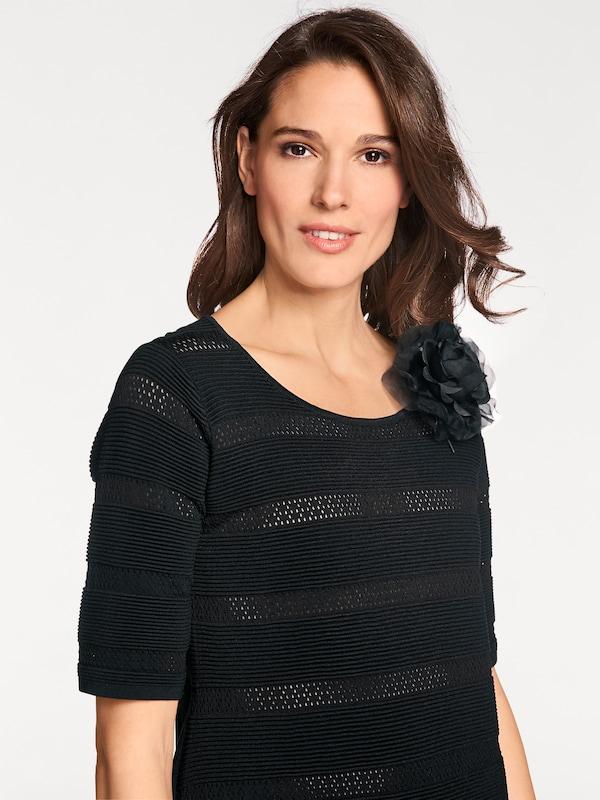 Patrizia Dini By Heine Crew-neck Sweater Ajour