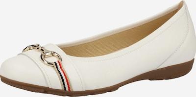 GABOR Ballerinas in weiß, Produktansicht