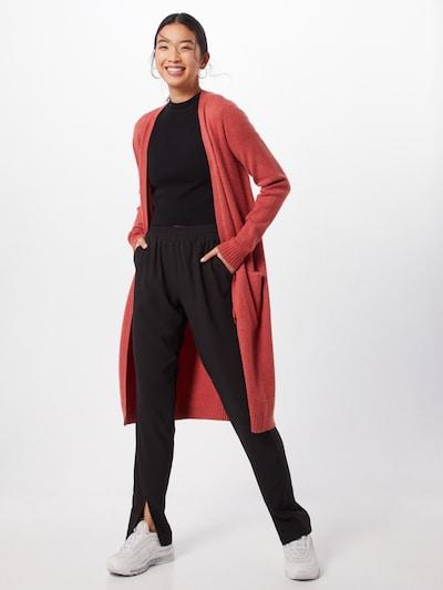 VILA Strickcardigan 'Ril' in rot, Modelansicht