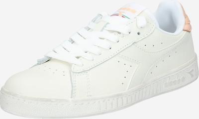 Diadora Chaussure de sport 'GAME L LOW WAXED' en pêche / blanc, Vue avec produit